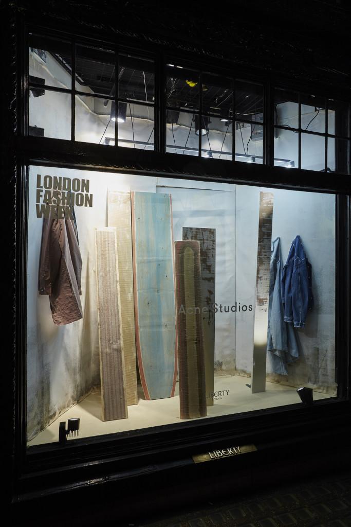 Store display Liberty, London