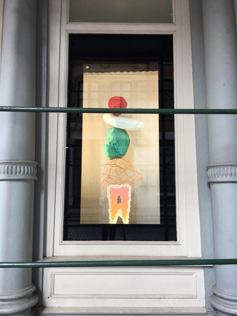 AW16 windows display NYC